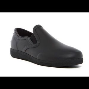 New Hunter rubber plimsoll slip on shoes